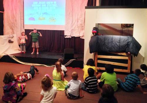 Interactive puppet shows bring Bible lessons to life!